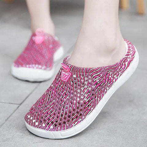 Women Slippers Casual Comfort Slip On Slide Sandals - fashionshoeshouse