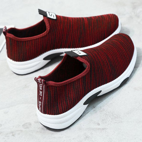 Women Sneakers Casual Comfort Slip On Shoes - fashionshoeshouse