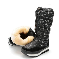 Women Winter Plus Thickening Wool Fur Warm Snow Boots
