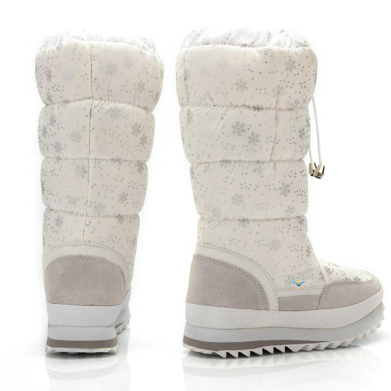 Women 2019 Winter Plus Thickening Wool Fur Warm Snow Boots - fashionshoeshouse