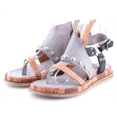 Women Casual Multi Color Flat Platform Sandals - fashionshoeshouse