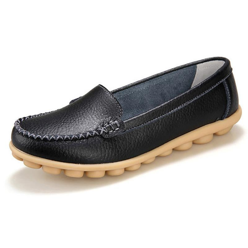 Moccasins Loafers for Women Comfort Non-slip Driving Shoes - fashionshoeshouse