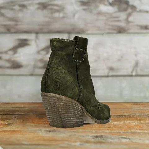 2019 Autumn Pointed Toe Martin Short Boots For Women - fashionshoeshouse