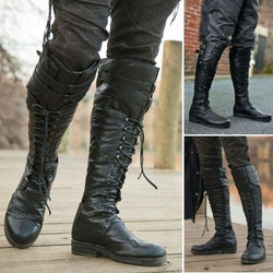 Women Ackpackers Mountain Climbers Cross Country Skiers Long Motorcycle Boots - fashionshoeshouse