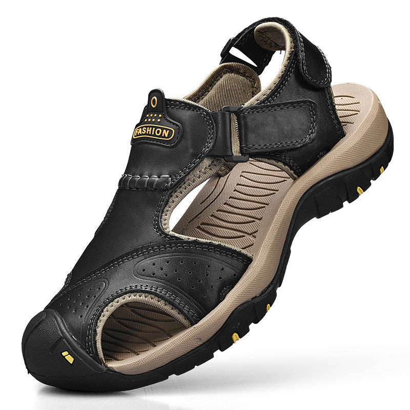 Men Summer Shoes Breathable Casual Beach Hiking Sandals - fashionshoeshouse