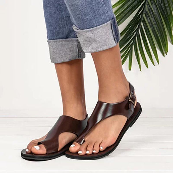 Thong Sandals Leather Sandals Holiday Sandals - fashionshoeshouse