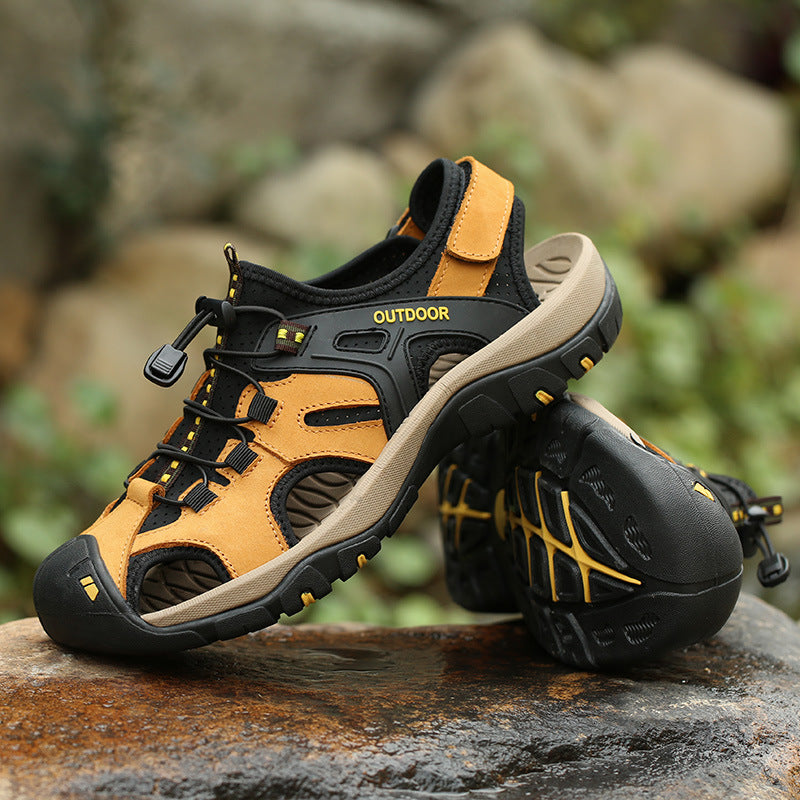 Men Outdoor High Quality Hiking Sandals - fashionshoeshouse