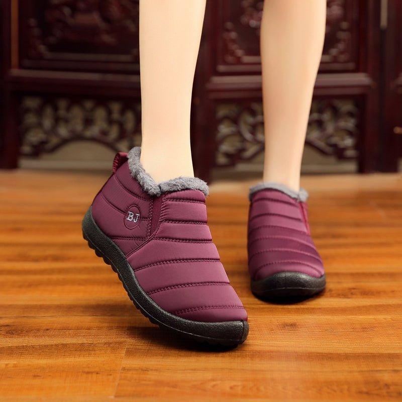 Winter Warm Waterproof Snow Boots - fashionshoeshouse