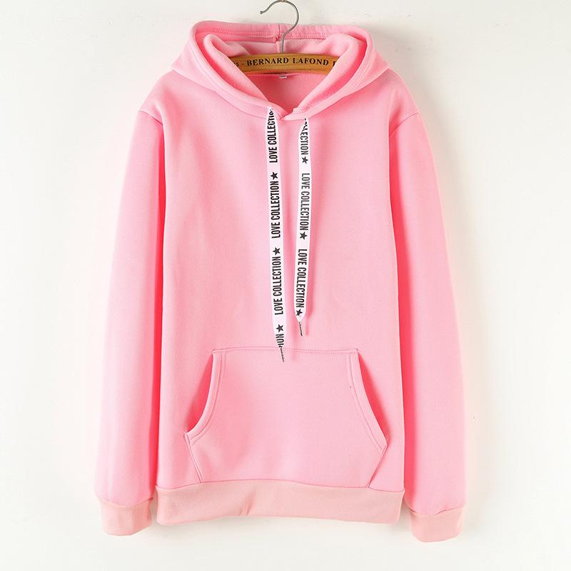 2019 New Social Harajuku  Long-sleeved Hoodies For Girls Women Sweatshirt - fashionshoeshouse