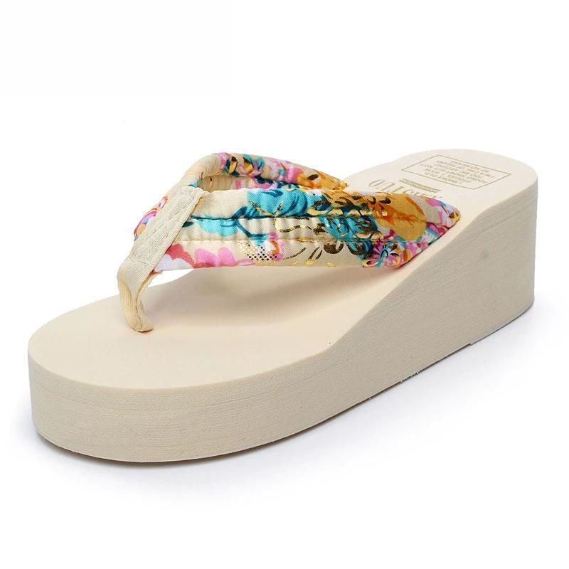 Pure Color Casual Summer Slippers for Ladies - fashionshoeshouse