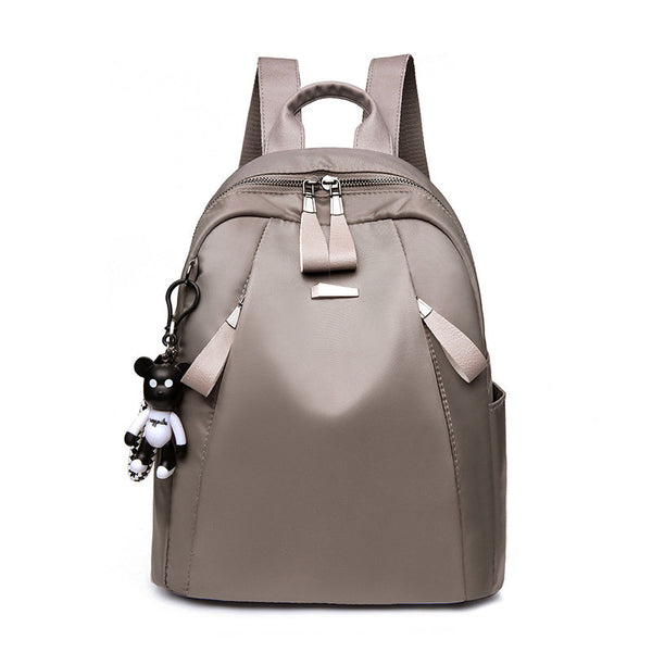 Women Nylon Leisure Large Capacity Backpack Light Weight Shoulder Bag Handbag - fashionshoeshouse