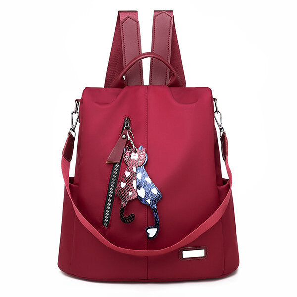 Women Anti-theft Backpack Oxford Travel Shoulder Bag School Backpack - fashionshoeshouse