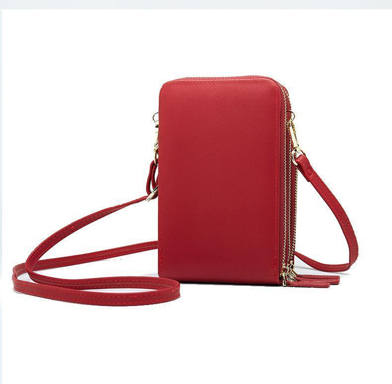 Crossbody Cell Phone Shoulder Bag Daily Use Card Holder - fashionshoeshouse