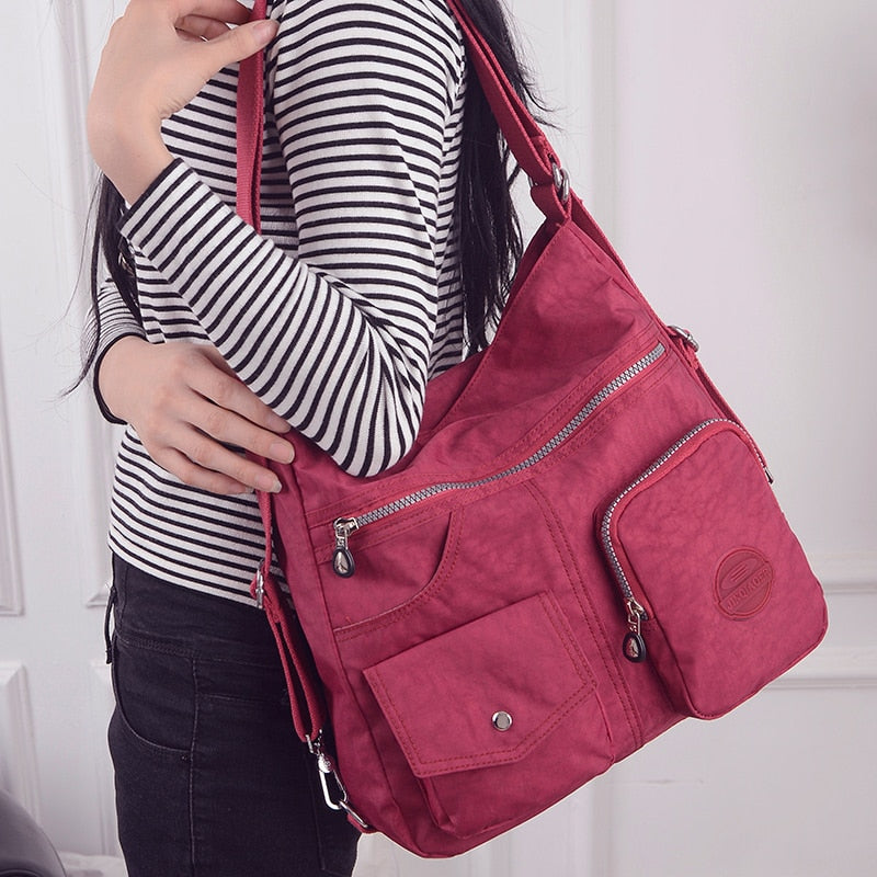 3 in 1 Women Bags Multifunction Backpack Shoulder Bag - fashionshoeshouse