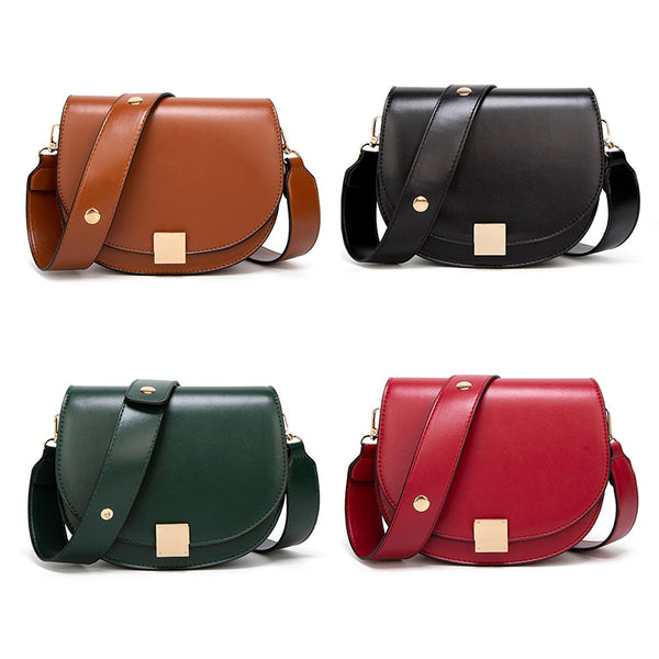 Vintage Crossbody Bags For Women Small Saddle Bag - fashionshoeshouse