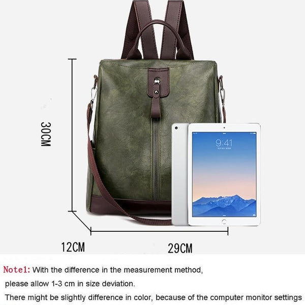 Fashion Women Backpack Youth Backpacks Teenage Girls School Shoulder Bag - fashionshoeshouse
