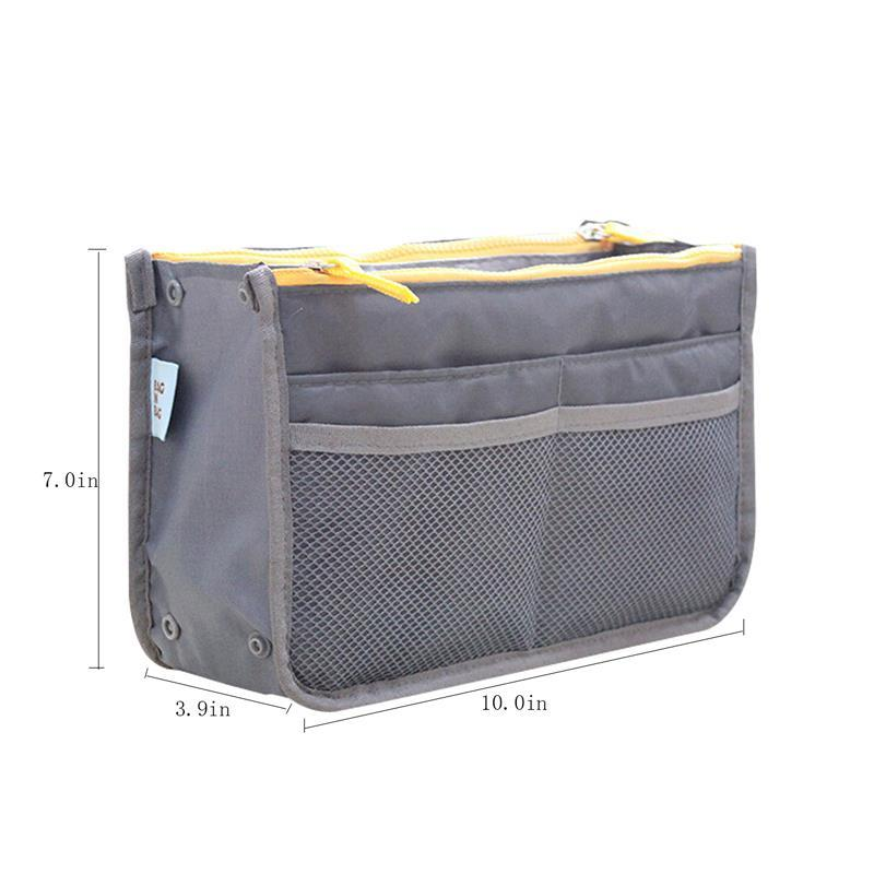 Large Capacity Cosmetic Storage Bag Nylon Travel Organizer - fashionshoeshouse