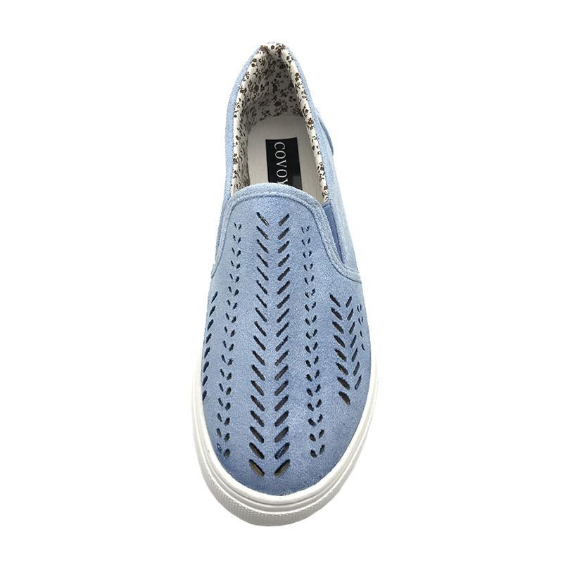 Breathable Hollow Out Loafers for Women Spring Autumn Slip on Flats - fashionshoeshouse