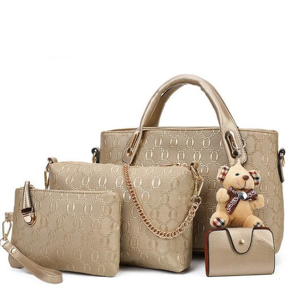 Set of 4 Handbags For Women - fashionshoeshouse