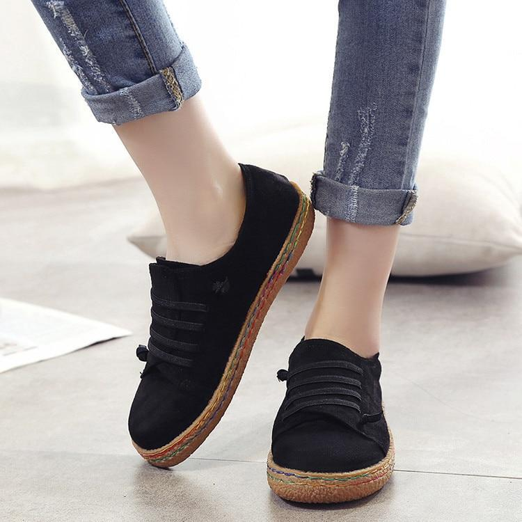 Spring Autumn Causal Flat Comfort Loafers - fashionshoeshouse