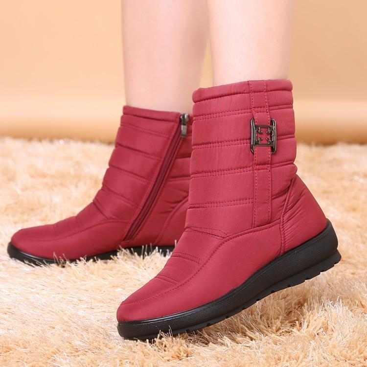 Mother Shoes Antiskid Waterproof Casual Boots - fashionshoeshouse