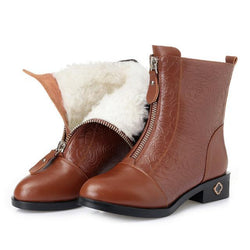 Ankle Fur Boots For Women - fashionshoeshouse