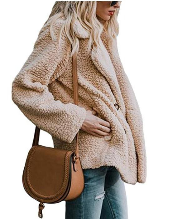 Winter Faux Fur Coat 2018 Casual Solid Warm Jacket - fashionshoeshouse