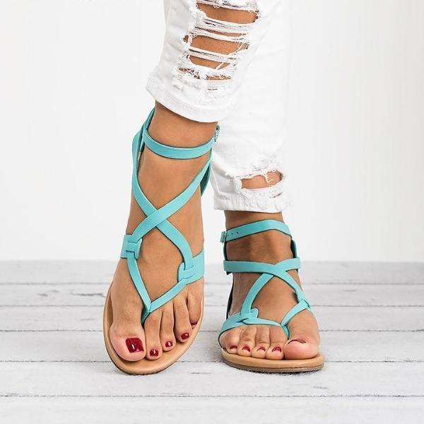 2020 New Summer Strap Sandals - fashionshoeshouse