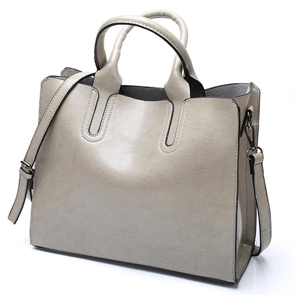 Lady Large Tote Bag Shoulder Bag - fashionshoeshouse