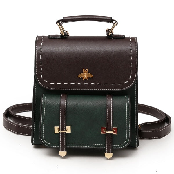 Vintage Women Backpack - fashionshoeshouse