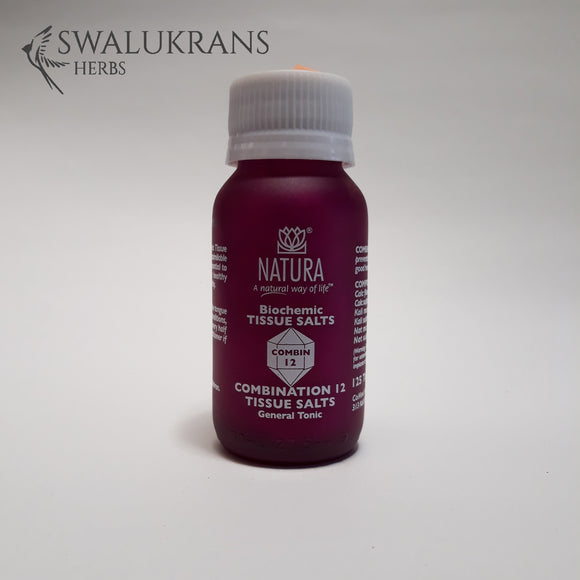 Natura Combin Assist Tissue Salts -  12  (125 Tablets)