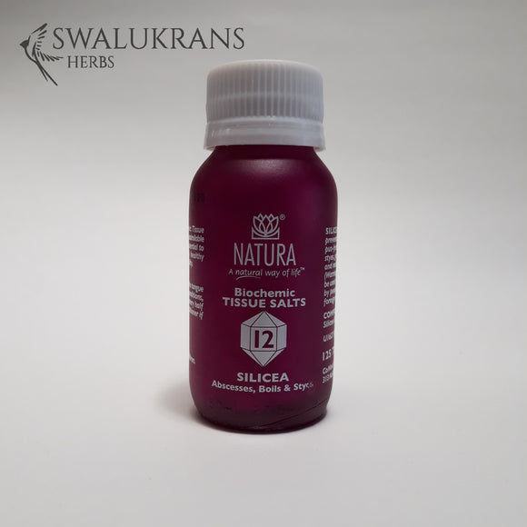 Natura Tissue Salts - Silicea No 12  (125 Tablets)