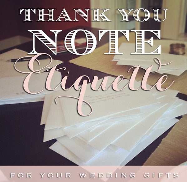 letterpress stationery thank you card note etiquette