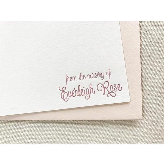 Everleigh - Letterpress Stationery