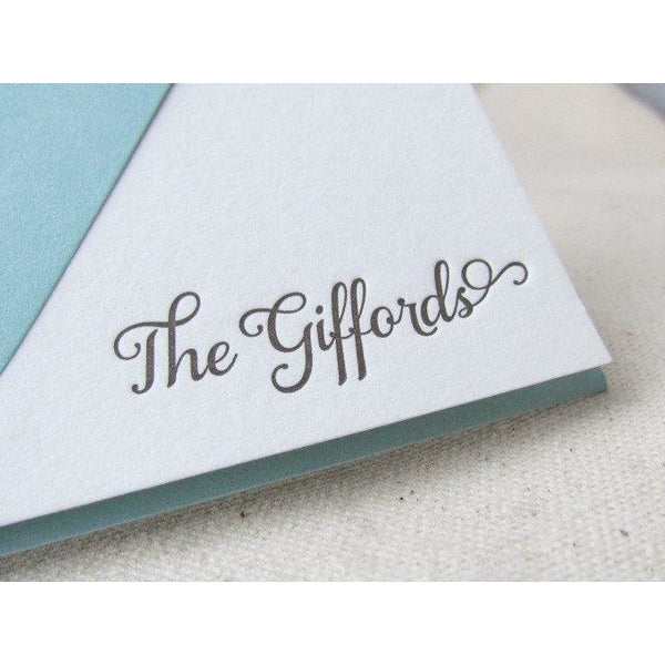 Gifford - Letterpress Stationery