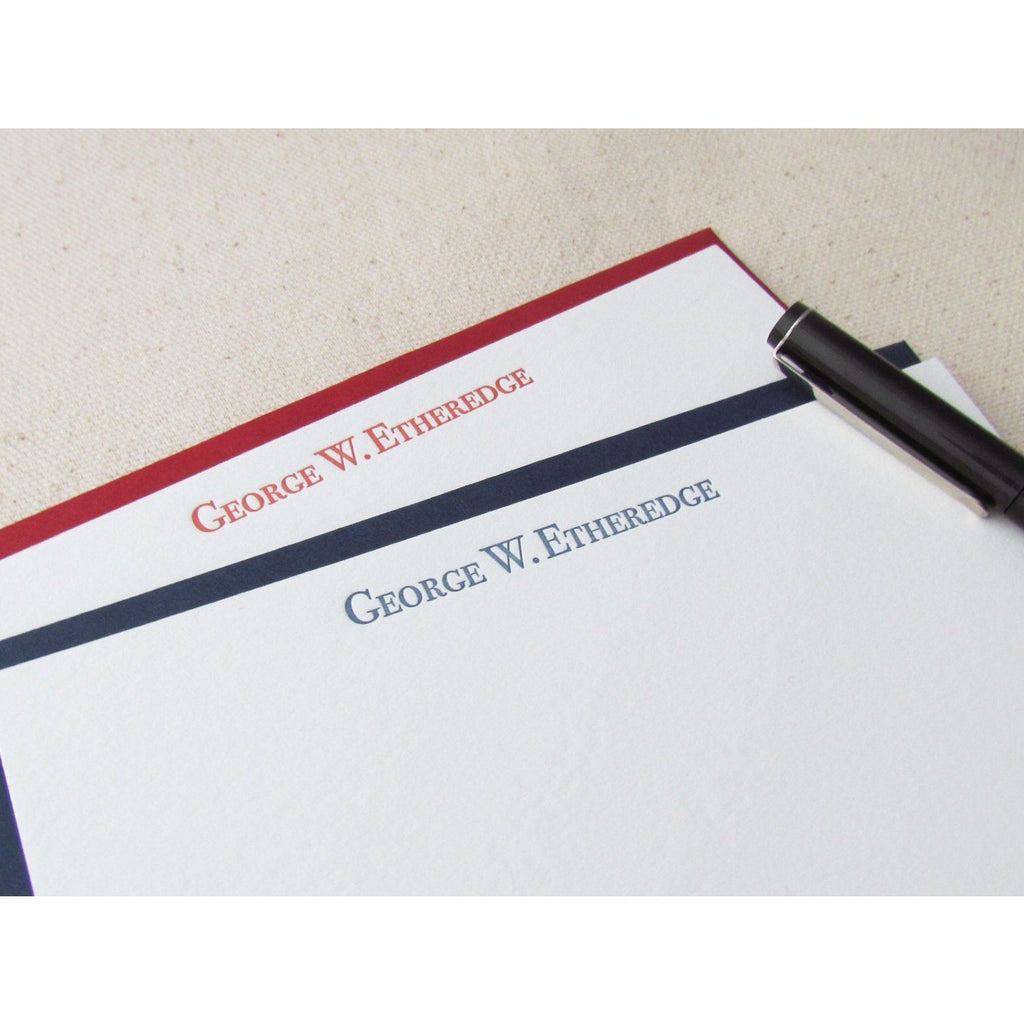 George - Letterpress Stationery