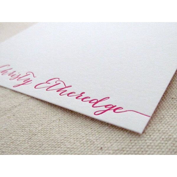 Bombshell - Letterpress Stationery