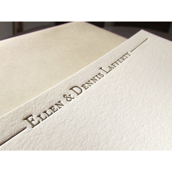 Ellen - Letterpress Stationery