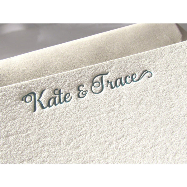 Kate - Letterpress Stationery