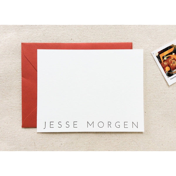 Morgan - Letterpress Stationery