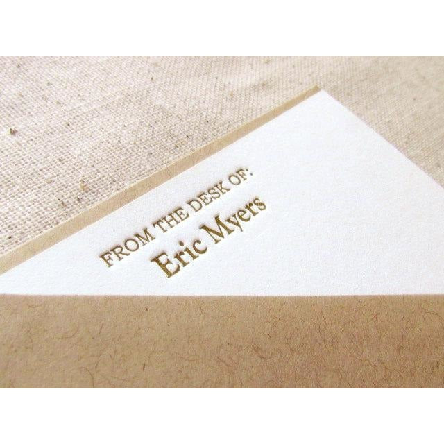 Eric - Letterpress Stationery