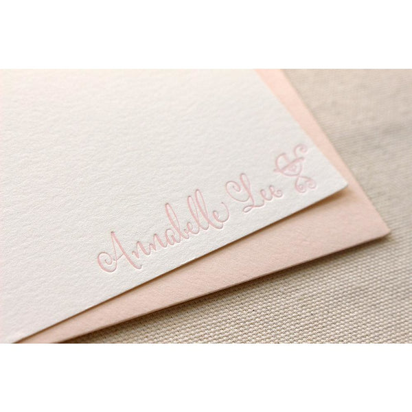 Annabelle Lee - Letterpress Stationery