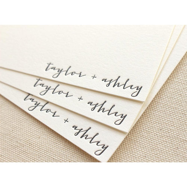 Ashley - Letterpress Stationery
