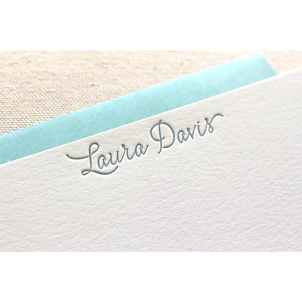 Laura - Letterpress Stationery