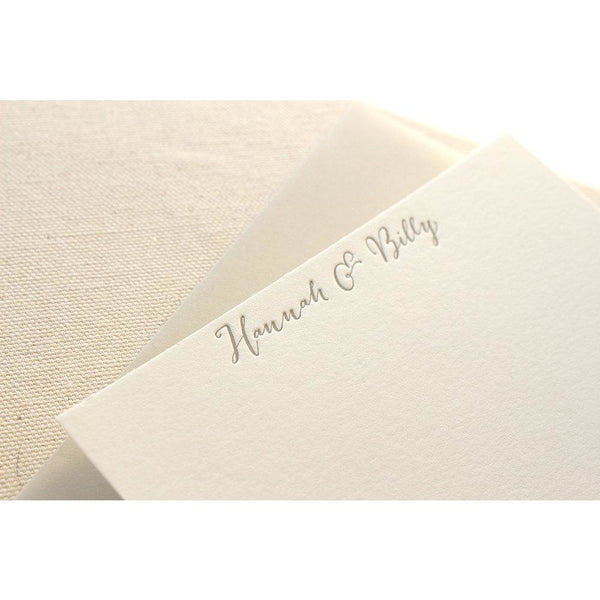 Hannah - Letterpress Stationery