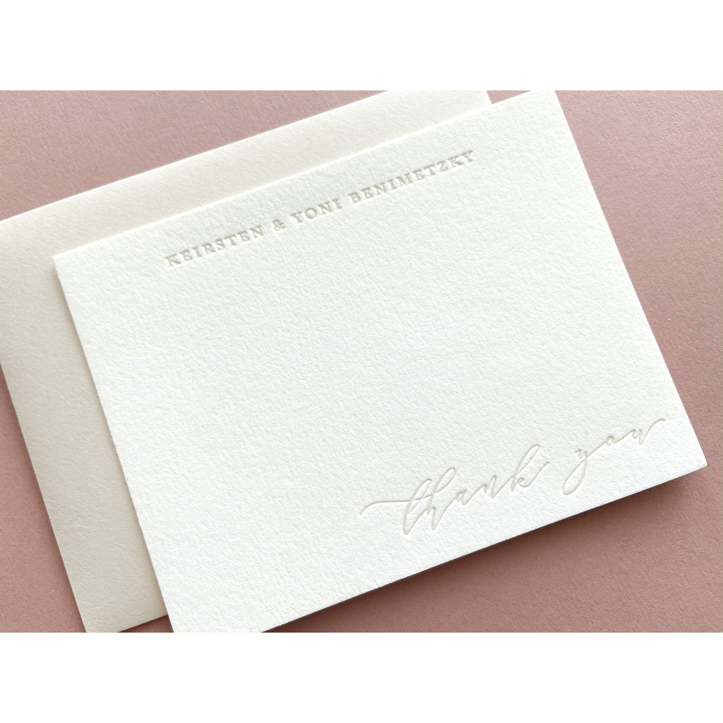 Keirsten - Letterpress Stationery