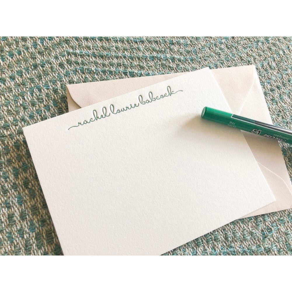 Rachel - Letterpress Stationery