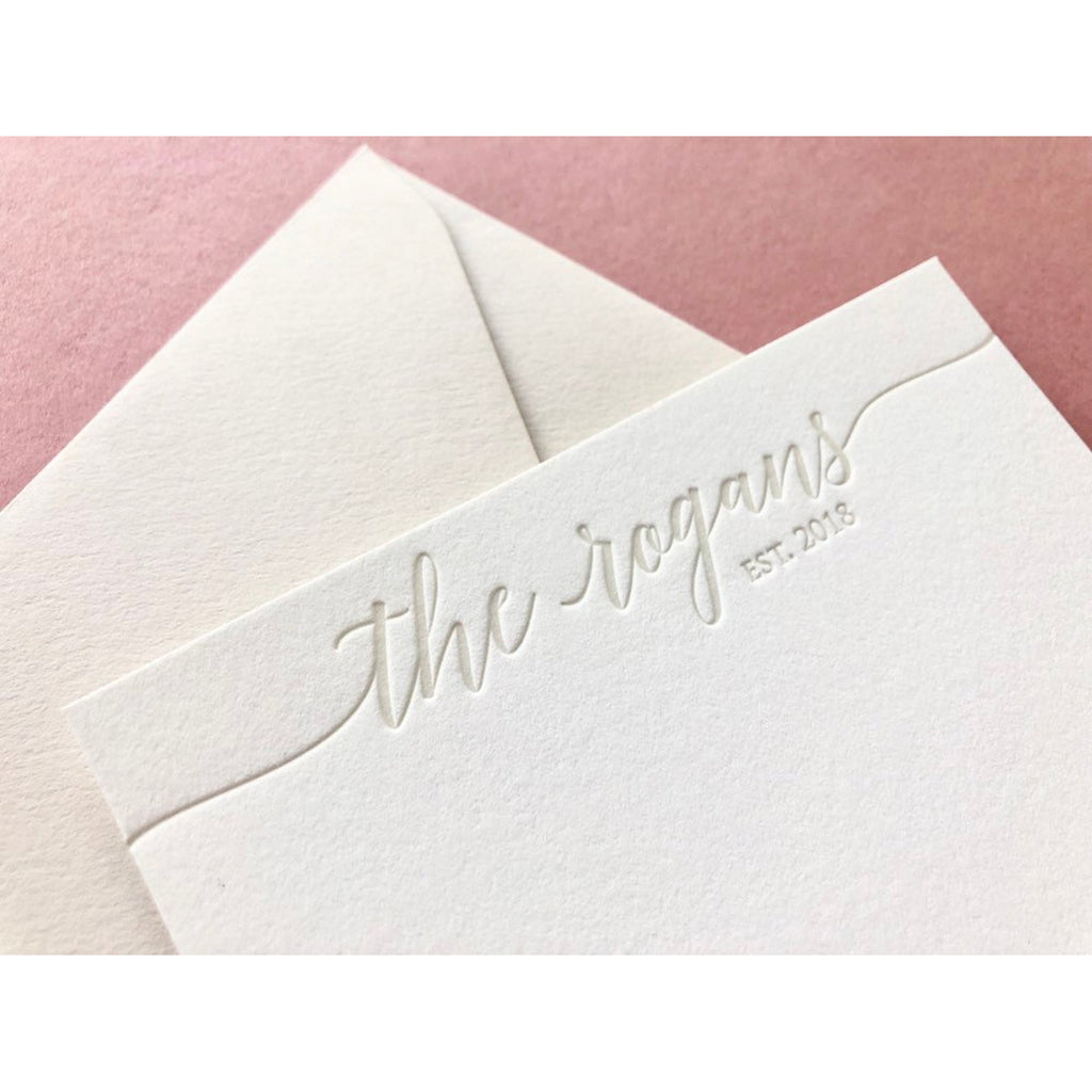 Rogans - Letterpress Stationery