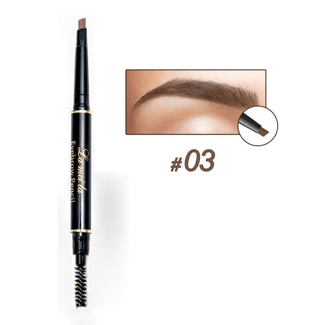 Eyebrow Pencil With Spooly (4-Color)