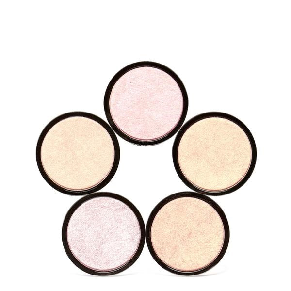 5 Colors Powder Highlighter